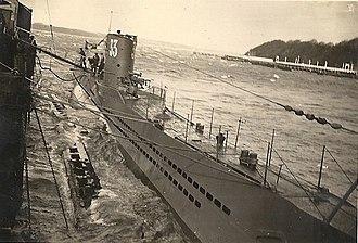 German submarine U-33 (1936) - Image: U BOOT 33
