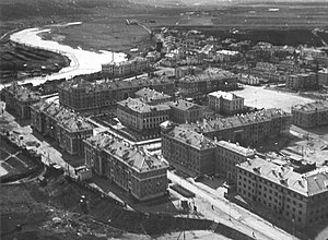 Ukhta - Ukhta in the 1950s