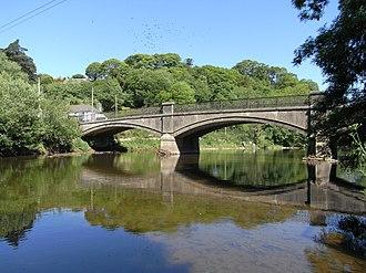 Umberleigh - Image: Umberleigh Bridge Devon