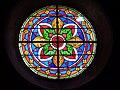 Une rosace de l'église de montfort-en-Chalosse.JPG