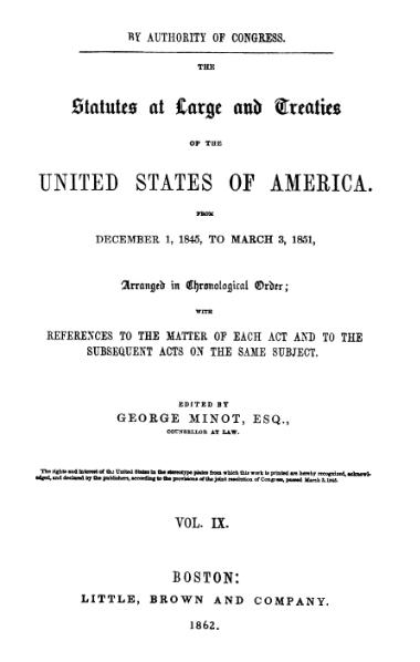 File:United States Statutes at Large Volume 9.djvu
