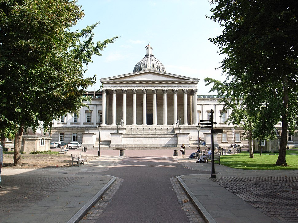 University College London, by William Wilkins