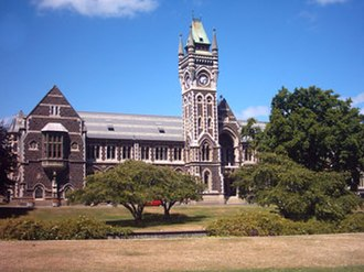 Architecture of New Zealand - University of Otago Registry Building