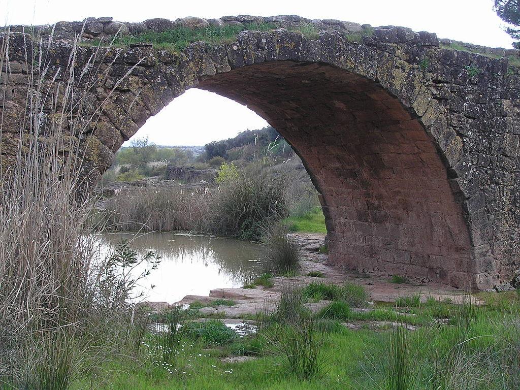 Uno de los ojos del puente Mocho