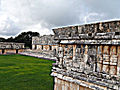 Uxmal, Nunnery Quadrangle, Temple of Venus, South Building and West Building.jpg