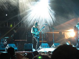 VHS or Beta - VHS or Beta performing live at Rock al parque in Bogotá, Colombia, 2005