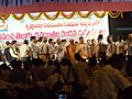VIPs on stage at the Inagural of Prapancha Telugu Racaitala Mahasabhalu.JPG