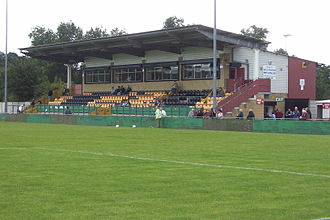 Paget Rangers F.C. - The stadium in Castle Vale where the original club played in its latter days