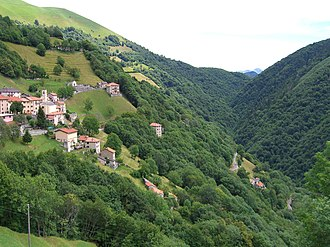 Breggia, Switzerland - Muggio Valley