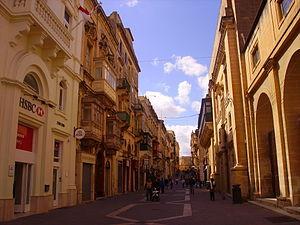 Economy of Malta - Image: Valletta Altstadt 4