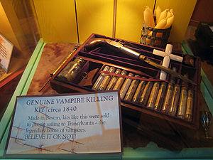 Vampire Killing Kit circa 1840