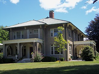 Vander Veer Park Historic District - Louis Marks House