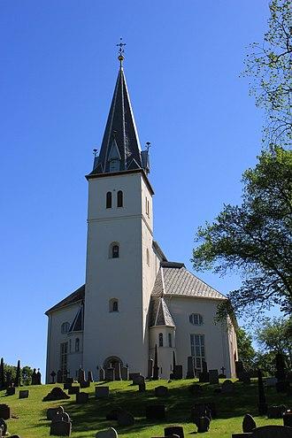 Abraham Pihl - Vang Church in Hedmark designed by Abraham Pihl