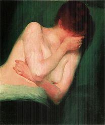 VASZARY Jánosv Female nude 1901