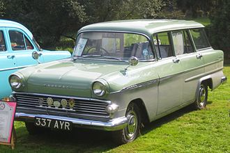 Vauxhall Victor - Vauxhall Victor F Estate, featuring the simplified post 1959 front treatment and less sculpted rear doors