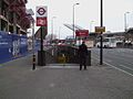 Vauxhall tube stn west entrance.JPG