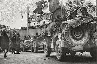 Popski's Private Army - British Troops