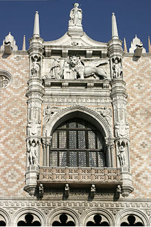 Venice - Doge's Palace - Loggia on the Piazzetta 01.jpg