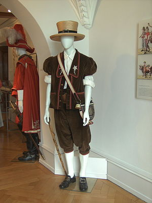 Bredzon, costume traditionnel de la Gruyère