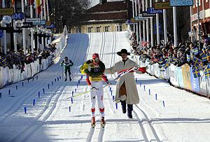 Vasaloppet - Kransmas Erik Smedhs and Vibeke Skofterud, 2012