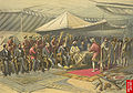 Viceroy Lord Canning meets Maharaja Ranbir Singh of Kashmir, 9 March 1860.jpg
