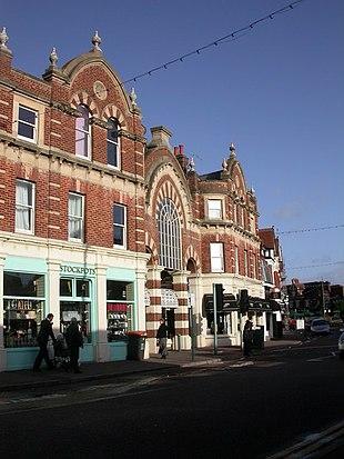 Victorian arcade at Westbourne