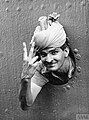 Victory Sign Indian Soldier Singapore 1941.jpg