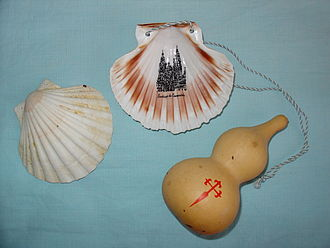 Camino de Santiago - St. James pilgrim accessories