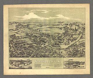 Dighton, Massachusetts Town in Massachusetts, United States