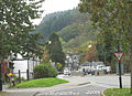 View South from the Bus Stand along Station Road, Betws-y-Coed - geograph.org.uk - 598287.jpg