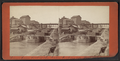 View from foot of the locks looking up, Lockport, by F. B. Clench.png