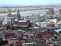 View from the top of the Anglican Cathedral Tower, Liverpool. - geograph.org.uk - 98226.jpg