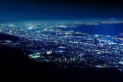 View of Kikuseidai from Mount Maya Kobe.jpg