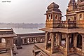 View of River Narmada from Main temple.jpg