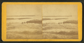View of people on rocks near a body of water, from Robert N. Dennis collection of stereoscopic views.png