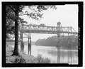 View west - King Bridge, Spanning Black Warrior River on U.S. Highway 43, Demopolis, Marengo County, AL HAER AL-206-7.tif