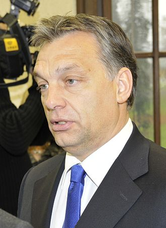 Elections in Hungary - Image: Viktor Orbán cropped