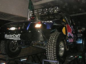 Vildosola Racing - Vildosola Racing SCORE Trophy Truck during the 2010 Baja 1000 victory celebration in Mexicali