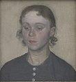 Vilhelm Hammershøi - The Artist's Wife, Ida Hammershøi, née Ilsted - KMS6691 - Statens Museum for Kunst.jpg