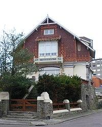 Villa La Rafale - Le Touquet-Paris-Plage - Vue de face.jpg