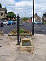 Village Pump, Water Trough and Flowers, Bolsterstone - geograph.org.uk - 1625985.jpg