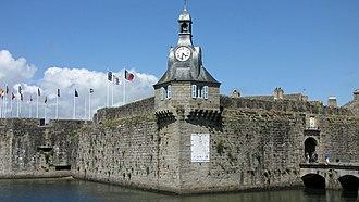 Walled town of Concarneau - Image: Ville Close de Concarneau (17)
