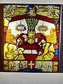 Villingen, Franziskanermuseum, Wappenscheibe mit dem österr. Bindenschild, 1567, Inv. 11858.jpg