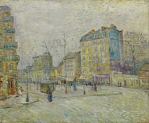 Boulevard de Clichy - Boulevard de Clichy (1887) by Vincent van Gogh