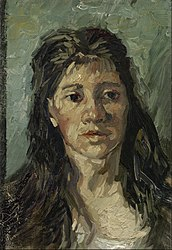 Vincent van Gogh: Head of a Prostitute