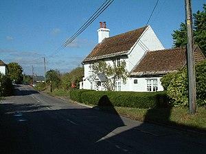 Throop, Dorset - Image: Vine Cottage, Throop geograph.org.uk 64786
