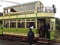 Vintage tram at the Wirral Bus & Tram Show - DSC03306.JPG