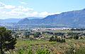 Vista de Cocentaina i Muro des de l'ermita de Gaianes.JPG