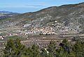 Vista de Fageca des de la Serrella.JPG