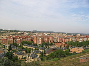 Vista general de Barbastro (Huesca).JPG